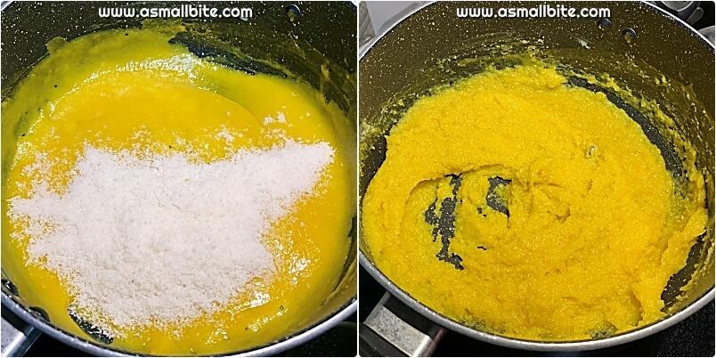 Mango Barfi Recipe