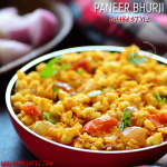 Paneer Bhurji Dhaba Style | Scrambled Paneer Recipe