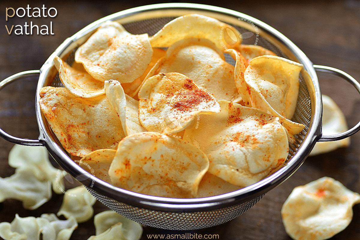 Potato Vathal Recipe