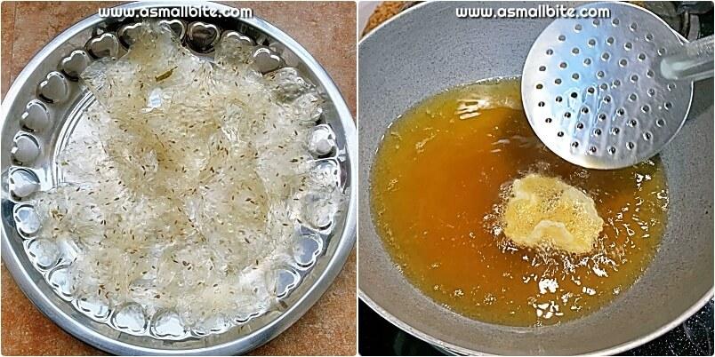 Sago Fryums Recipe