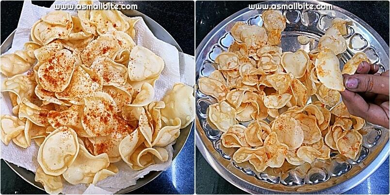 Sun Dried Aloo Chips