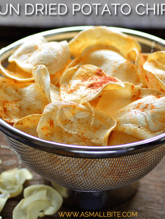 Sun Dried Potato Chips