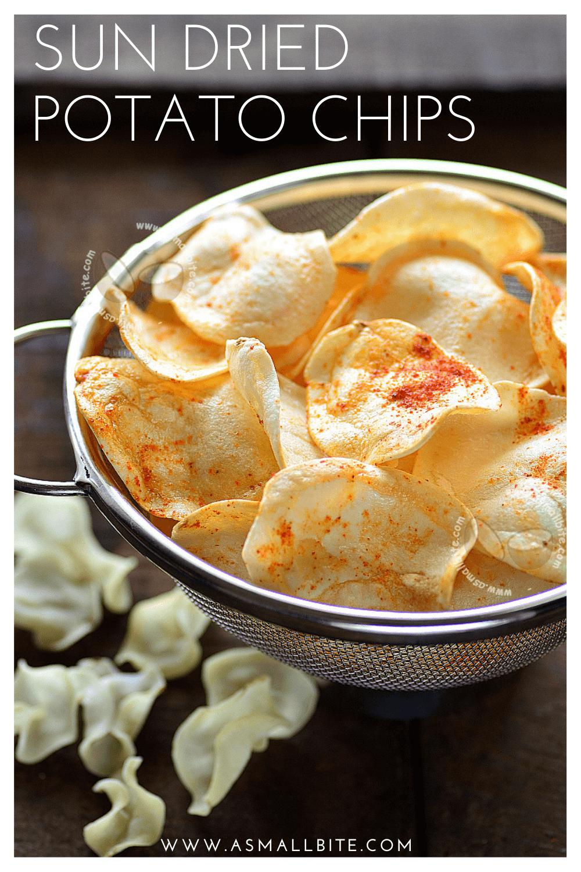 Sun Dried Potato Chips Recipe