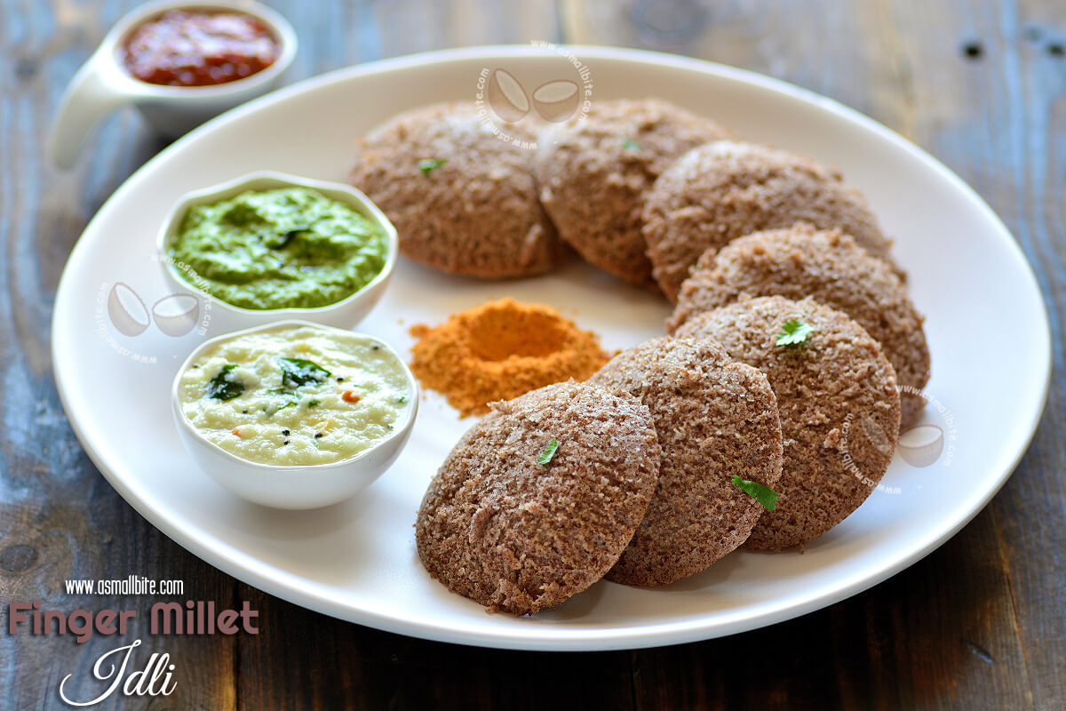 Finger Millet Idli Recipe