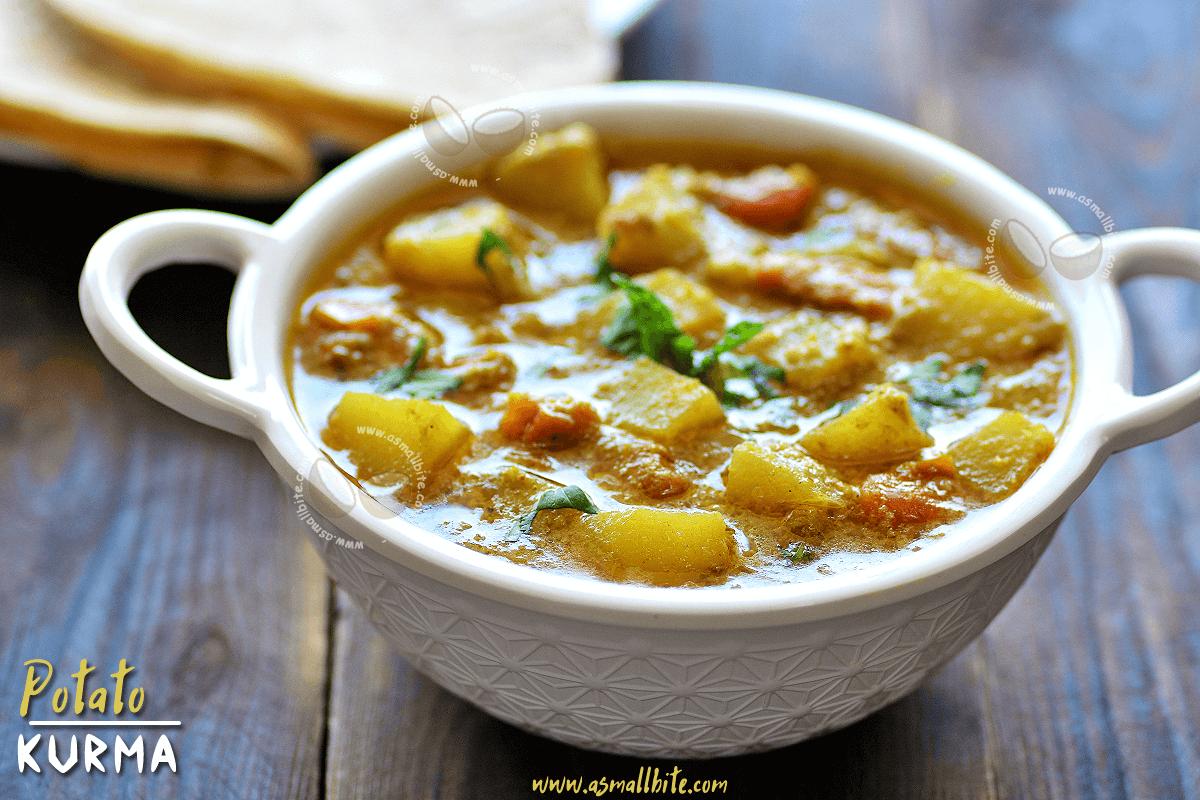 Potato Kurma Recipe