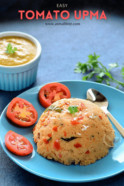 Easy Tomato Upma