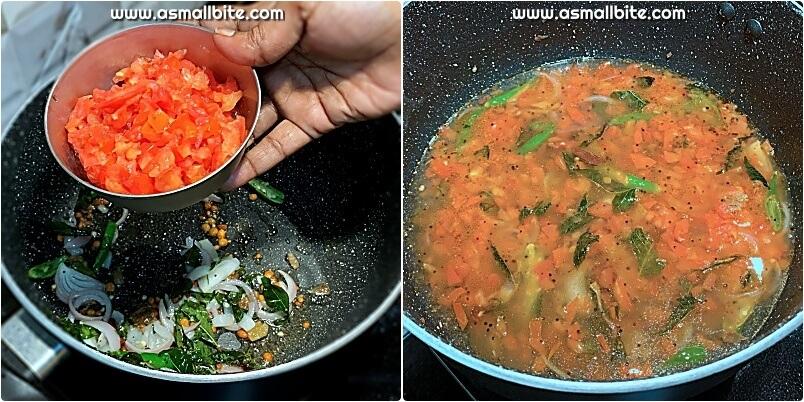 Suji Tomato Upma
