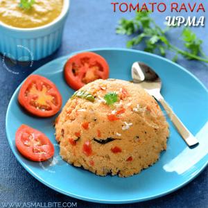 Tomato Rava Upma