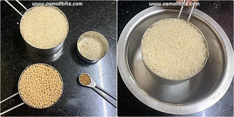 Idli With Raw Rice