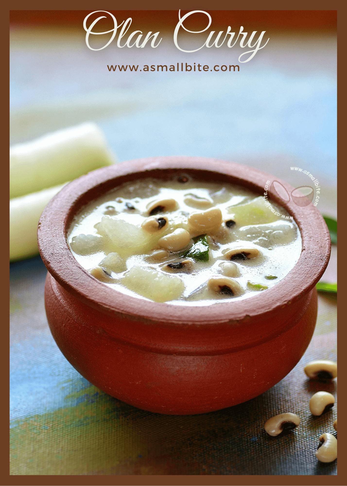 Olan Curry Recipe